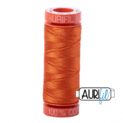 Aurifil 50 Cotton Thread - 2235 (Orange)